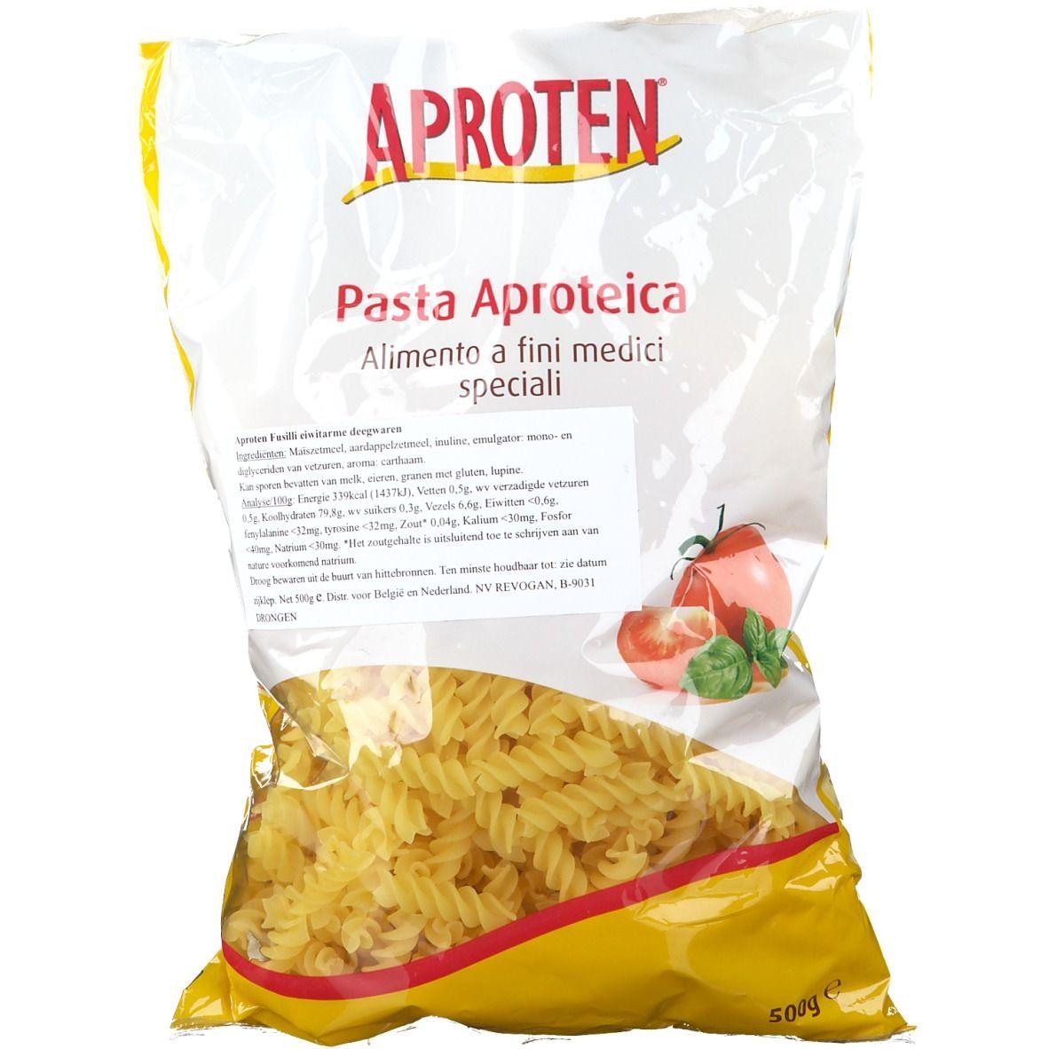 Image of APROTEN® Fusilli eiweißarme Pasta