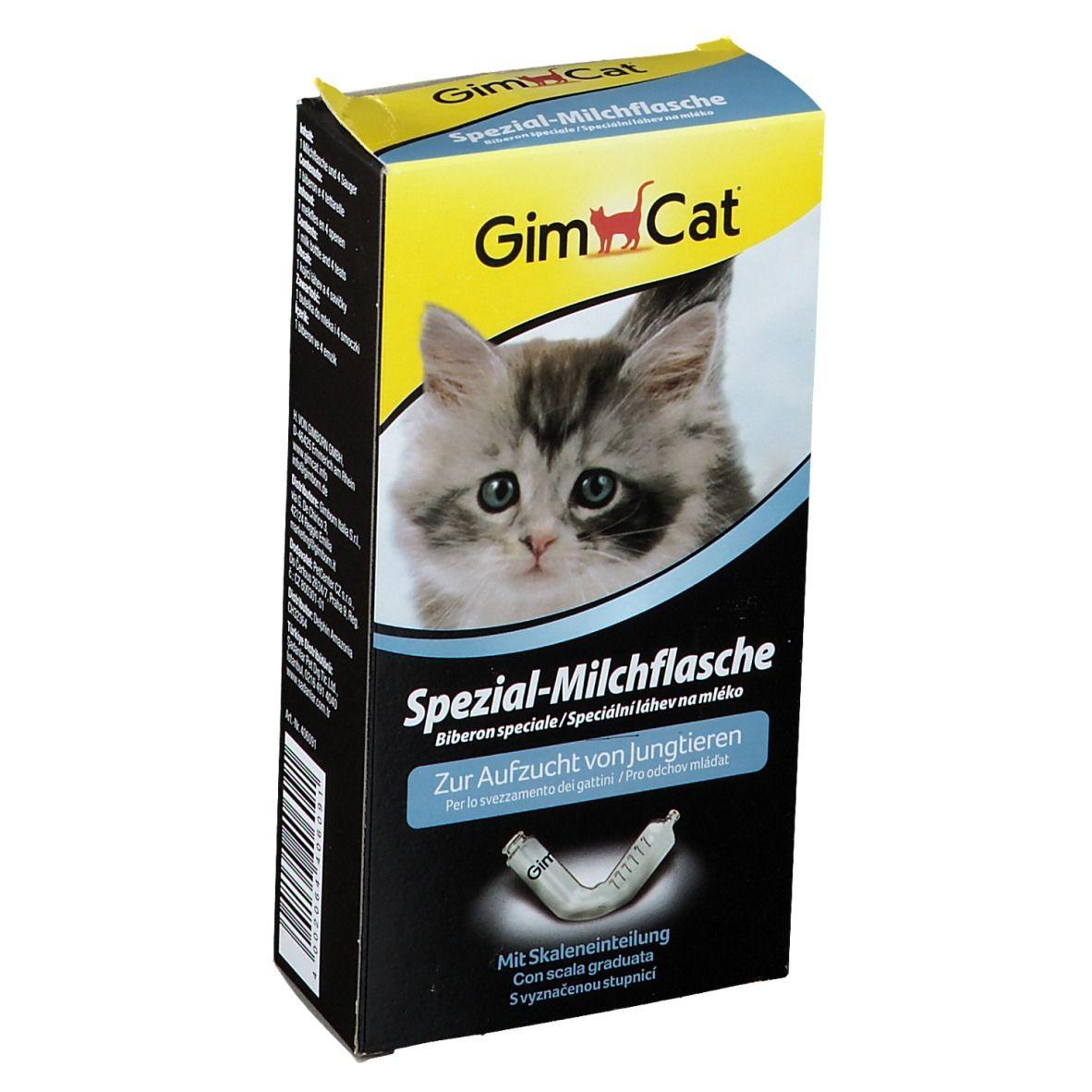Image of GimCat® Spezial-Milchflasche + 4 Sauger