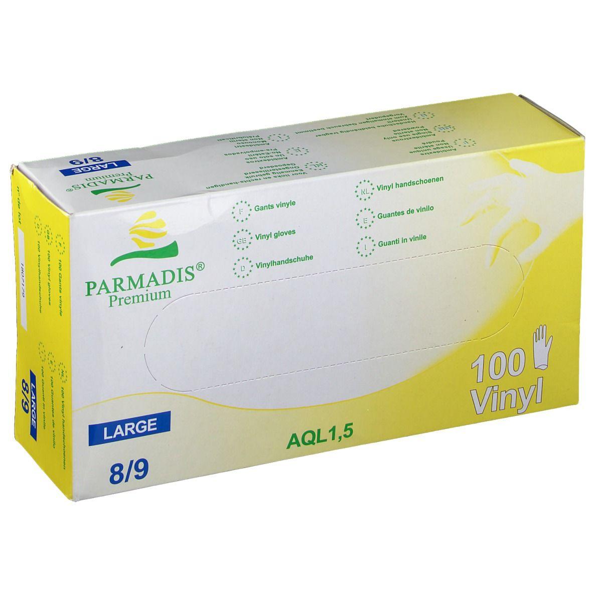 Image of PARMADIS® Premium Vinylhandschuhe Gr. L 8/9