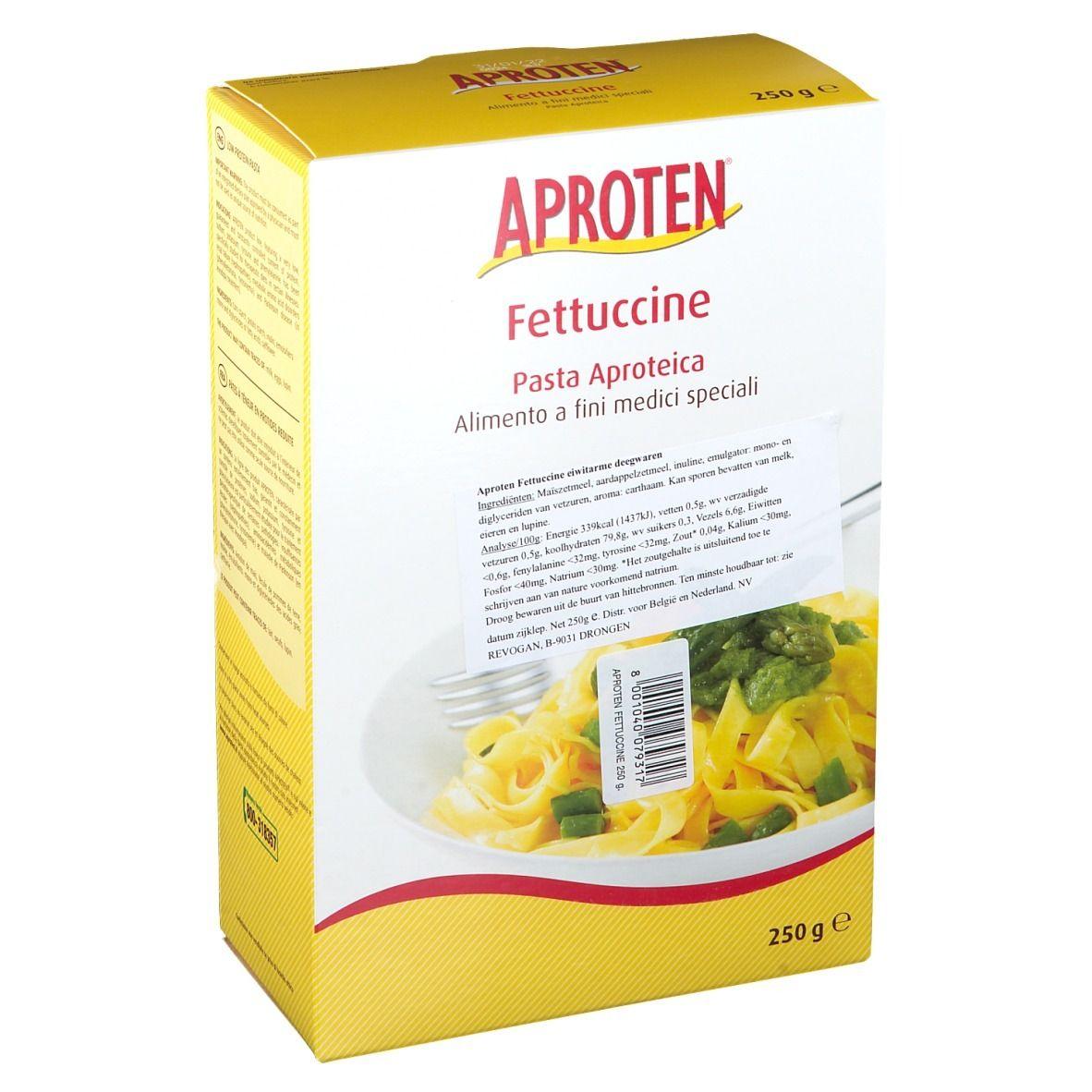 Image of APROTEN® Fettucine eiweißarme Pasta