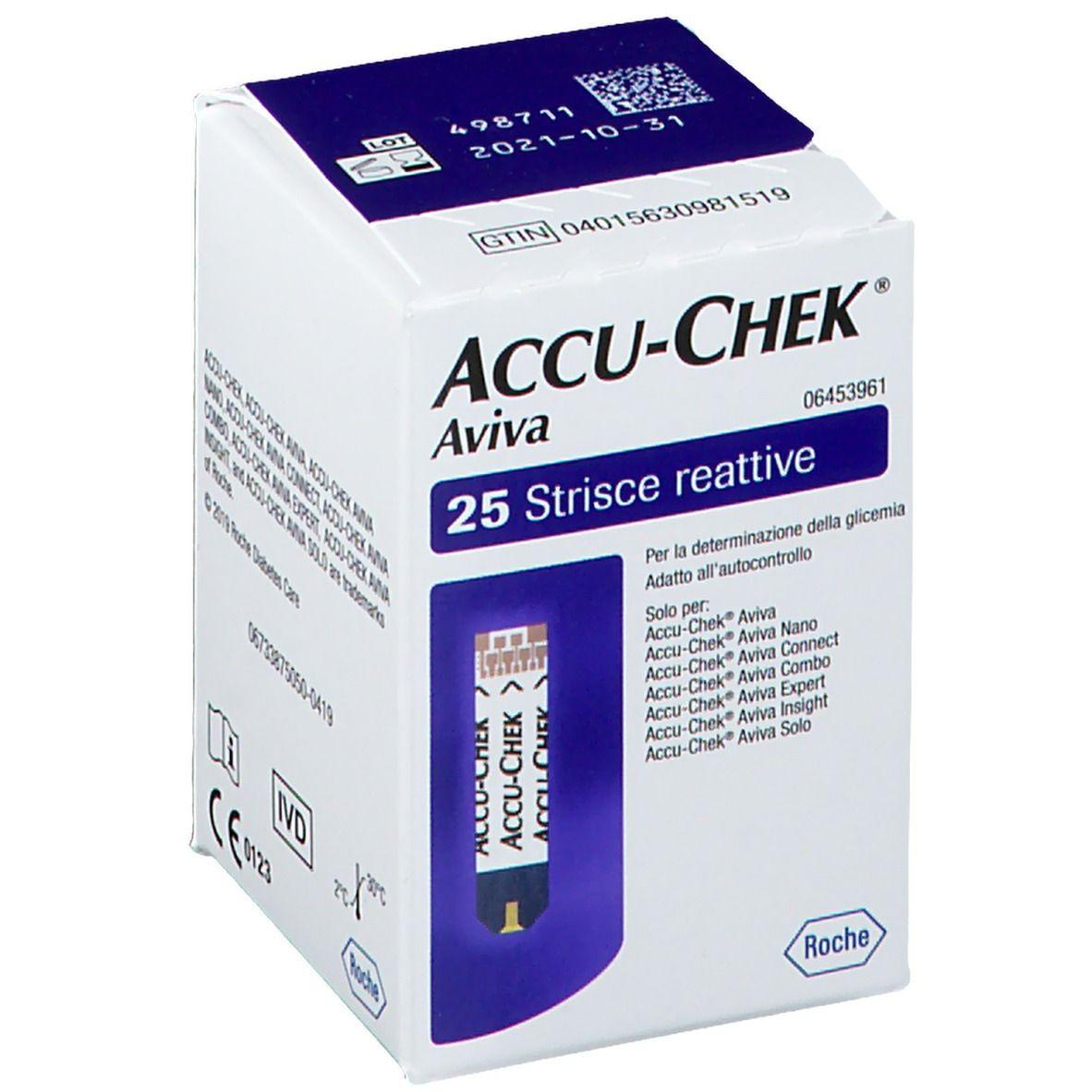 Image of ACCU CHEK Aviva Teststreifen