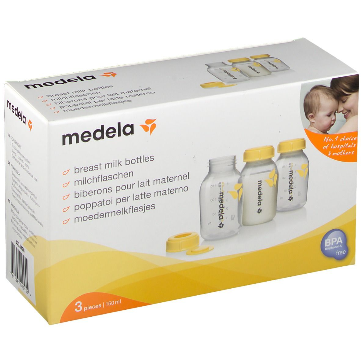 Image of medela Muttermilchflaschenset 150 ml