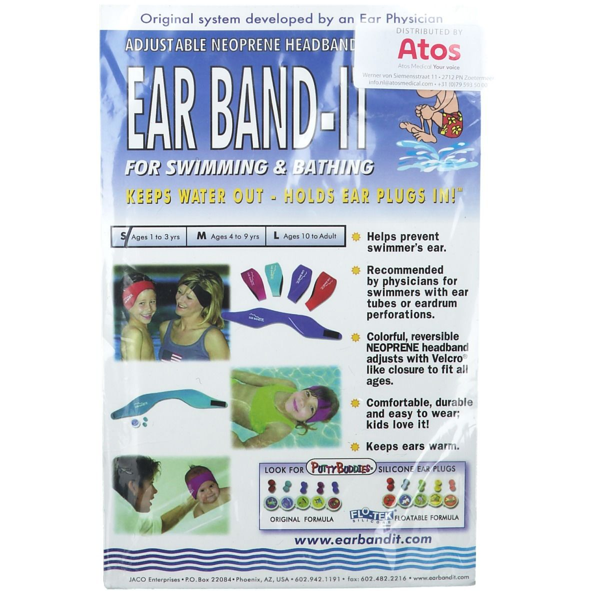 Image of EAR BAND-IT® Badestirnband S