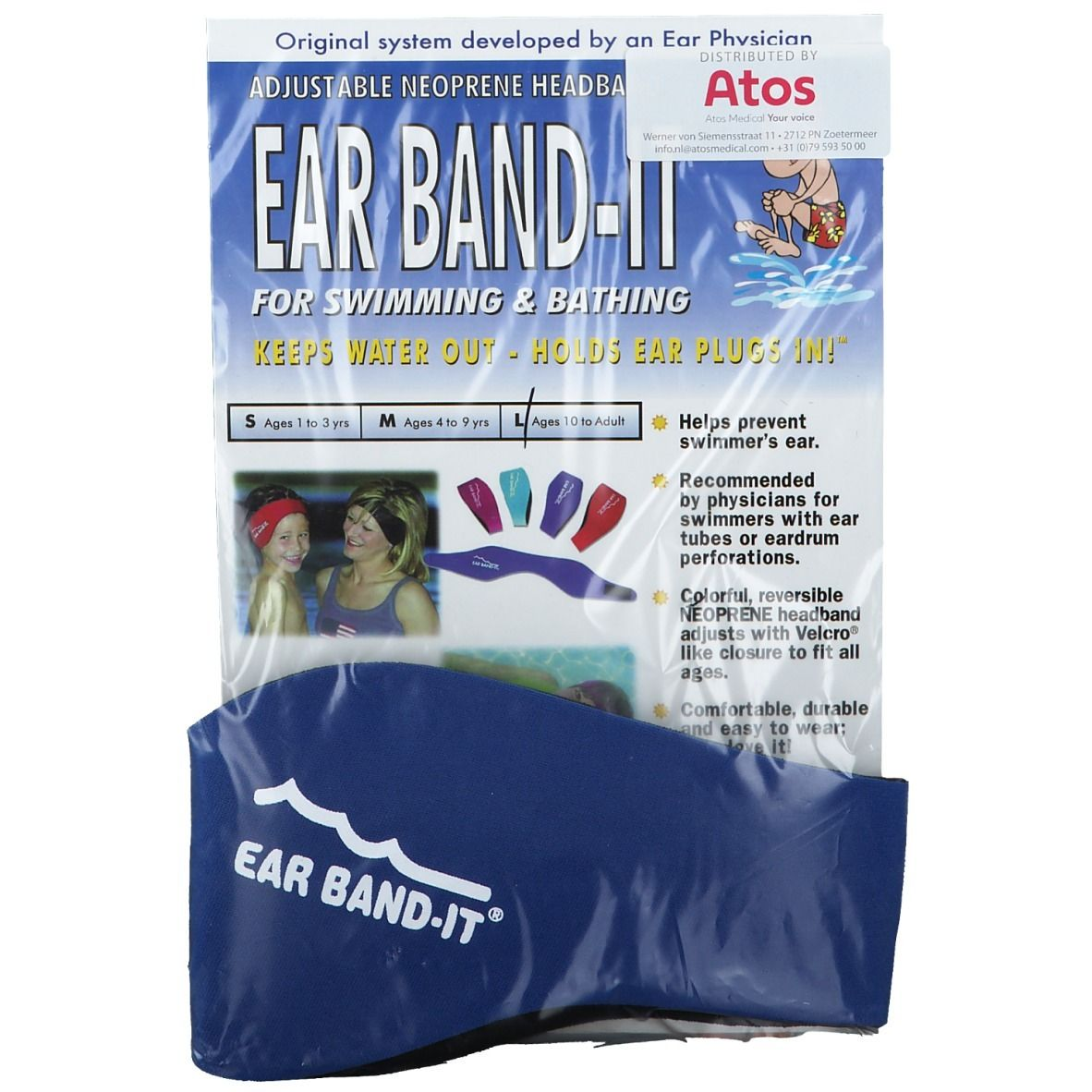 Image of EAR BAND-IT® Badestirnband L