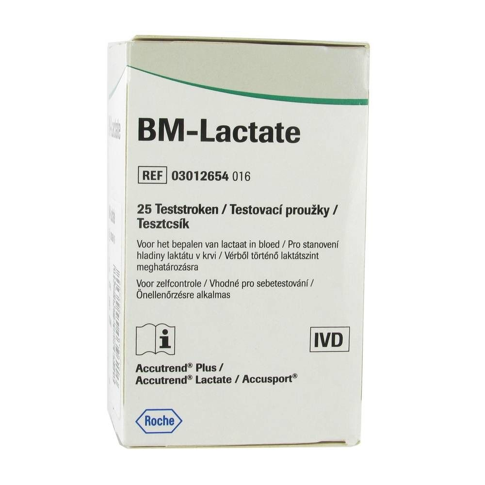 Image of Accutrend® BM-Lactate Laktat-Teststreifen