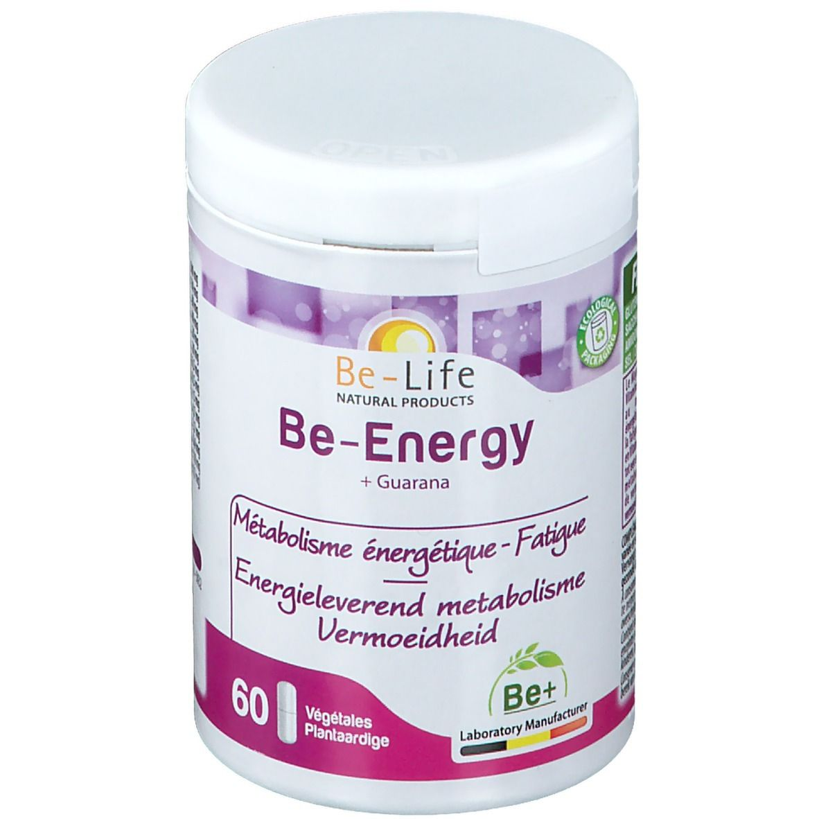 Image of Be-Life Be-Energy + Guarana