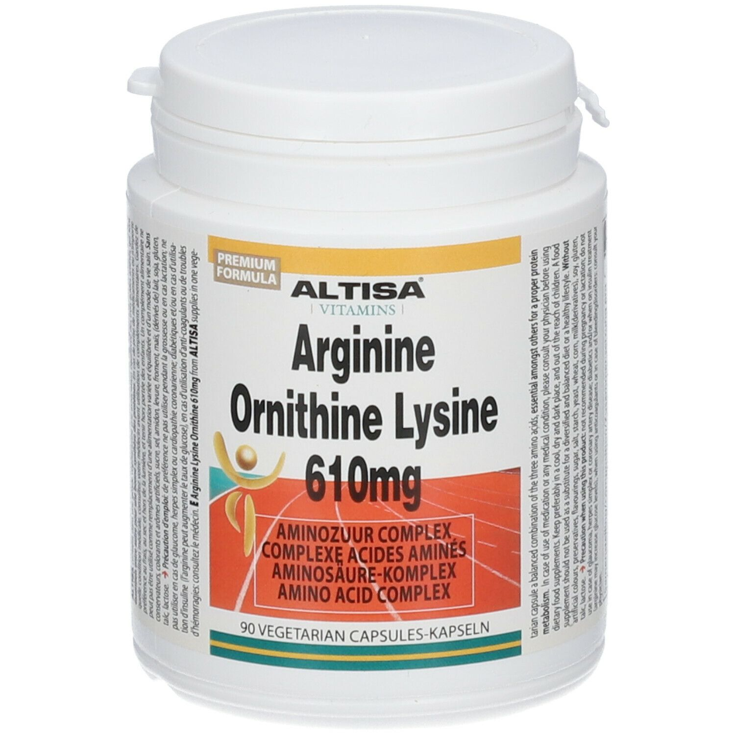 Image of ALTISA® Arginine Ornithine Lysine 610 mg