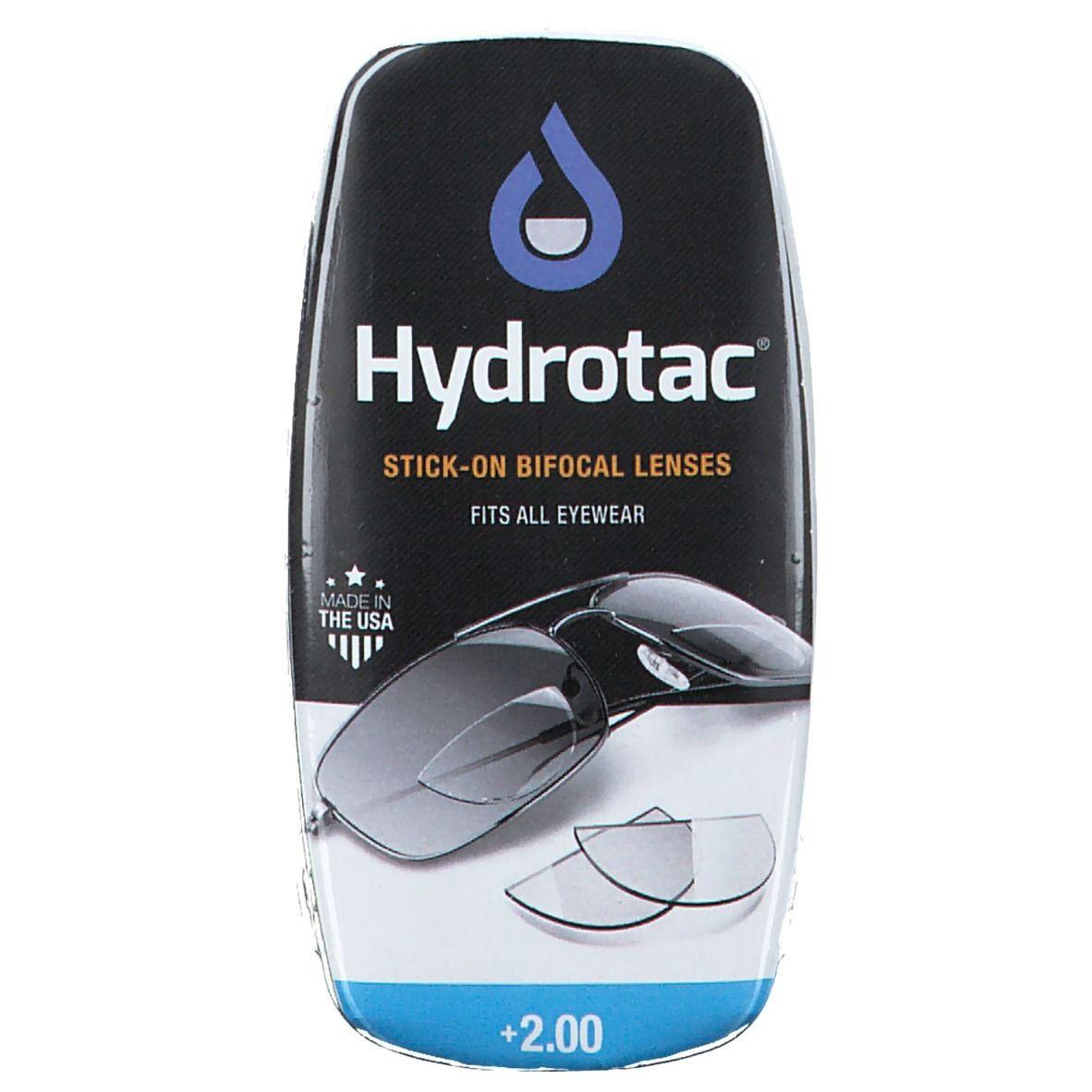 Image of Hydrotac® Leselinsen für Sonnebrillen und Sicherheitsgläser + 2.00