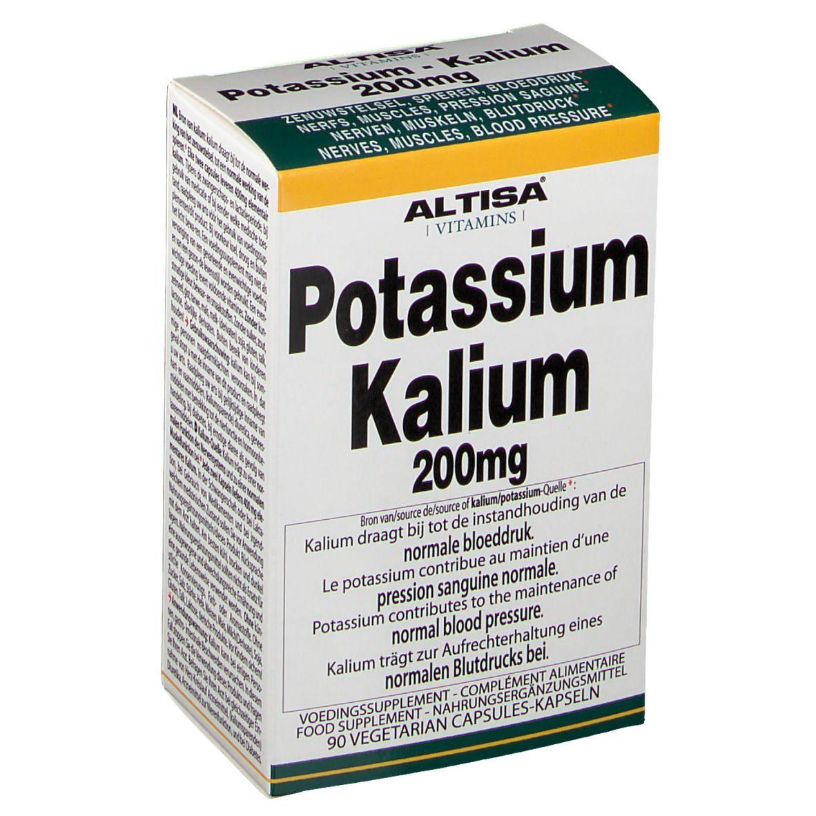 Image of Altisa Kalium 200 mg