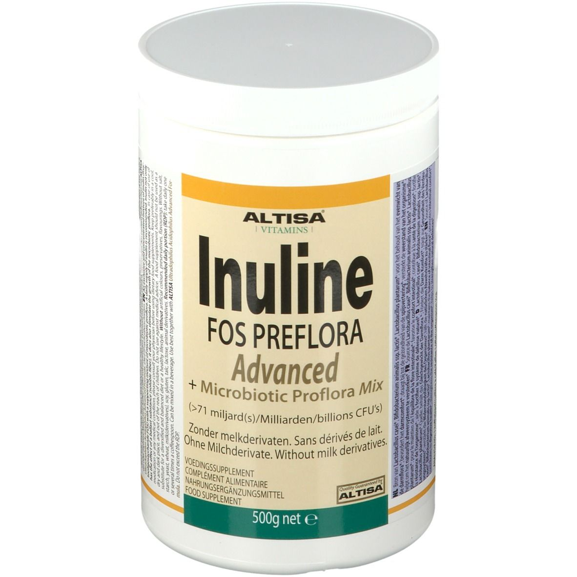 Image of ALTISA® Inuline Advanced FOS + Microbiotics