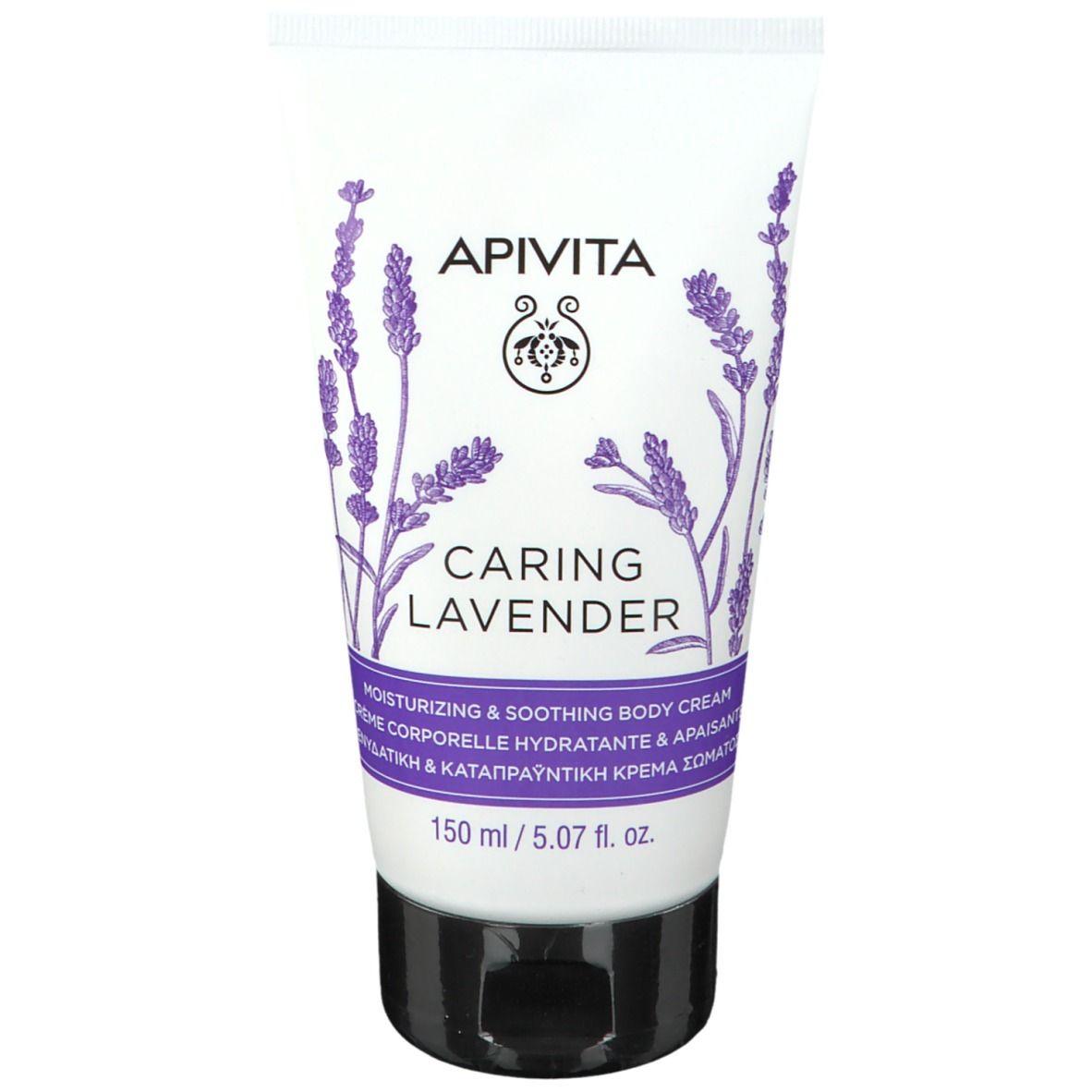 Image of APIVITA Caring Lavender Feuchtigkeitsspendende & entspannende Körpercreme
