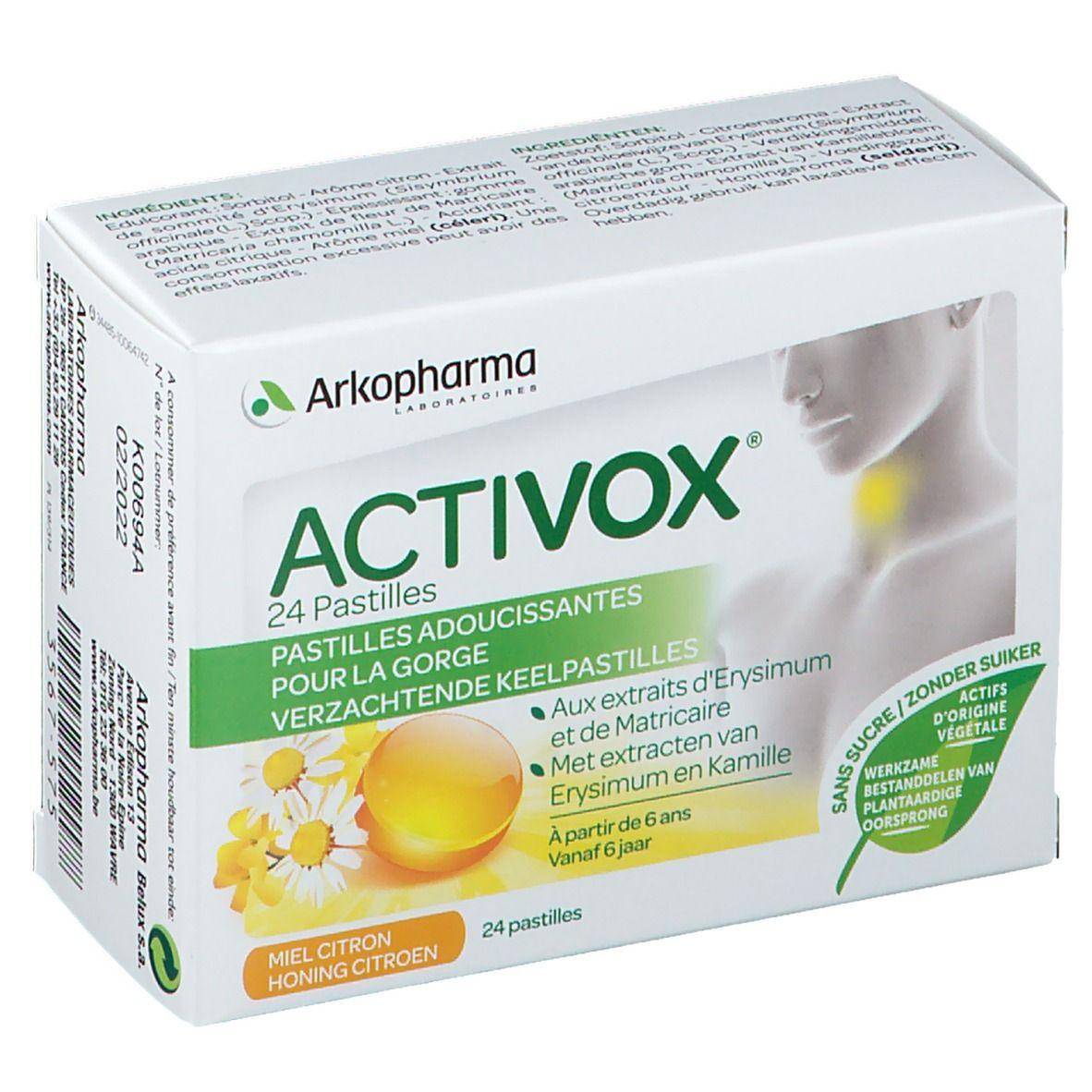 Image of Activox® Halsschmerzen Honig-Zitrone Ohne Zucker