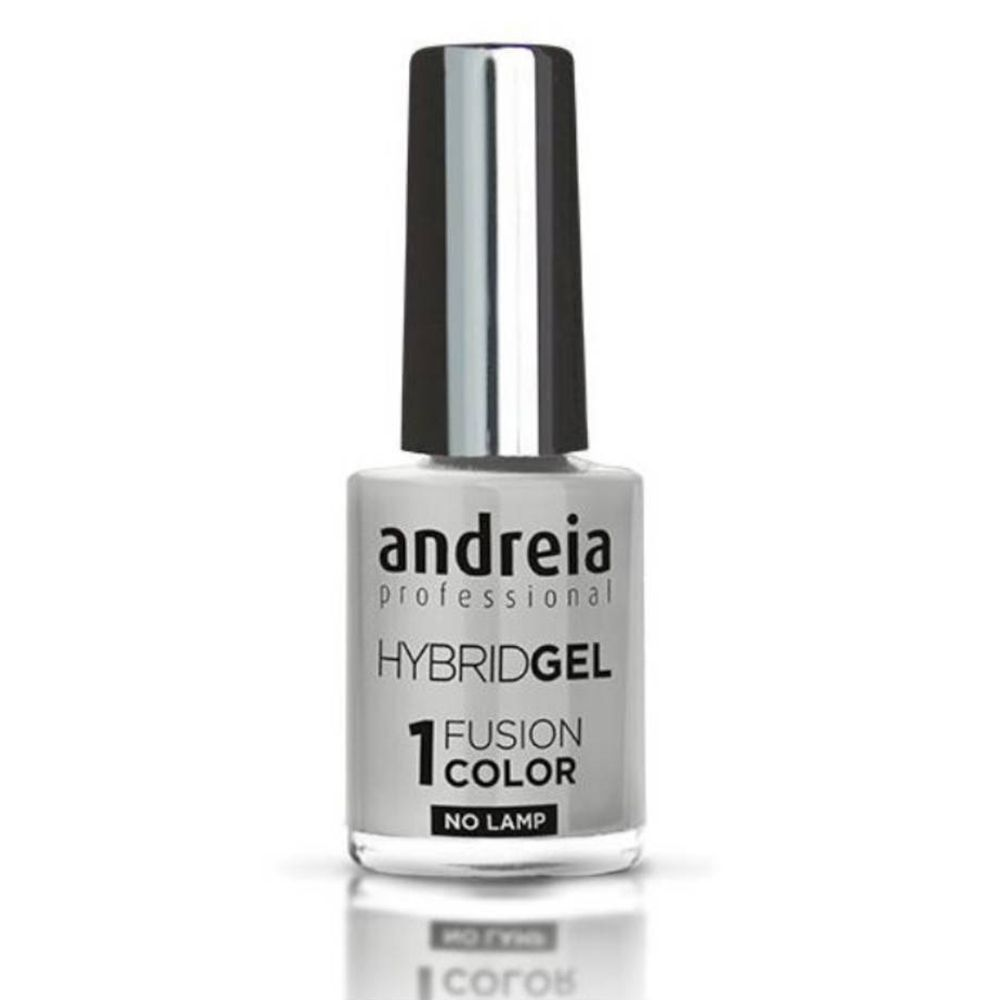 Image of Andreia Hybrid Nagellack Gel Fusion Color H5 Grau