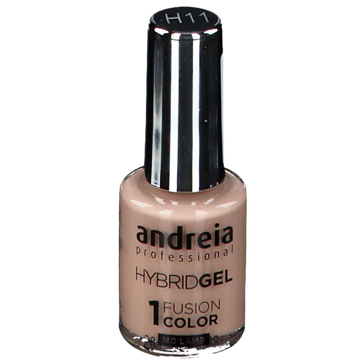 Image of Andreia Hybrid Nagellack Gel Fusion Color H11 Vanille