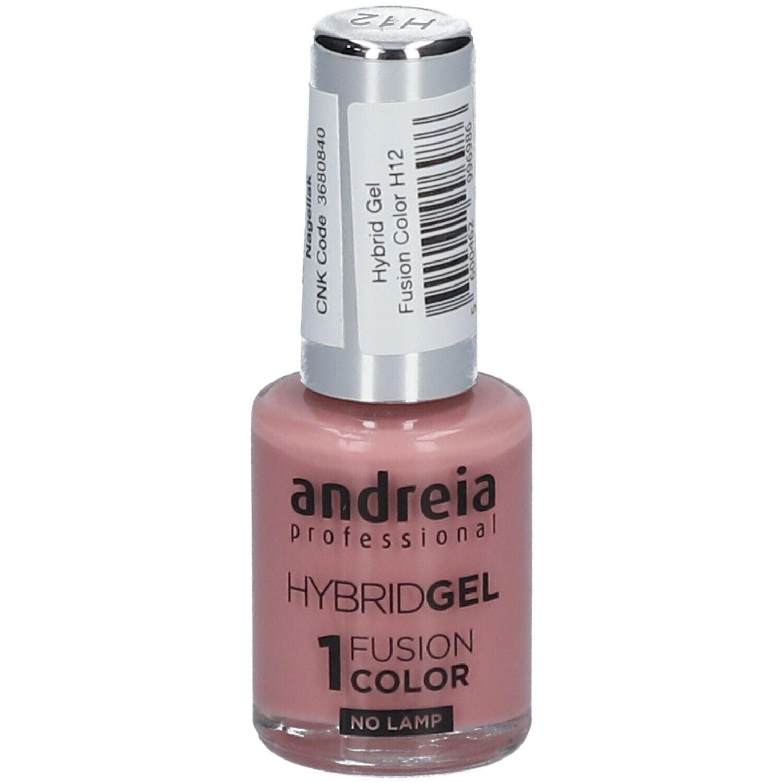 Image of Andreia Hybridgel Nagellack Fusion Color H12 Old Pink