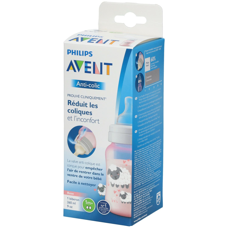 Image of Avent Anti-Kolik-Flasche Rosa