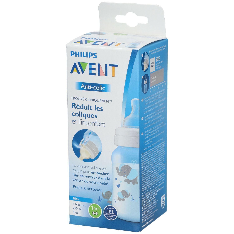 Image of Avent Babyflasche anti-colic 260 ml Blau