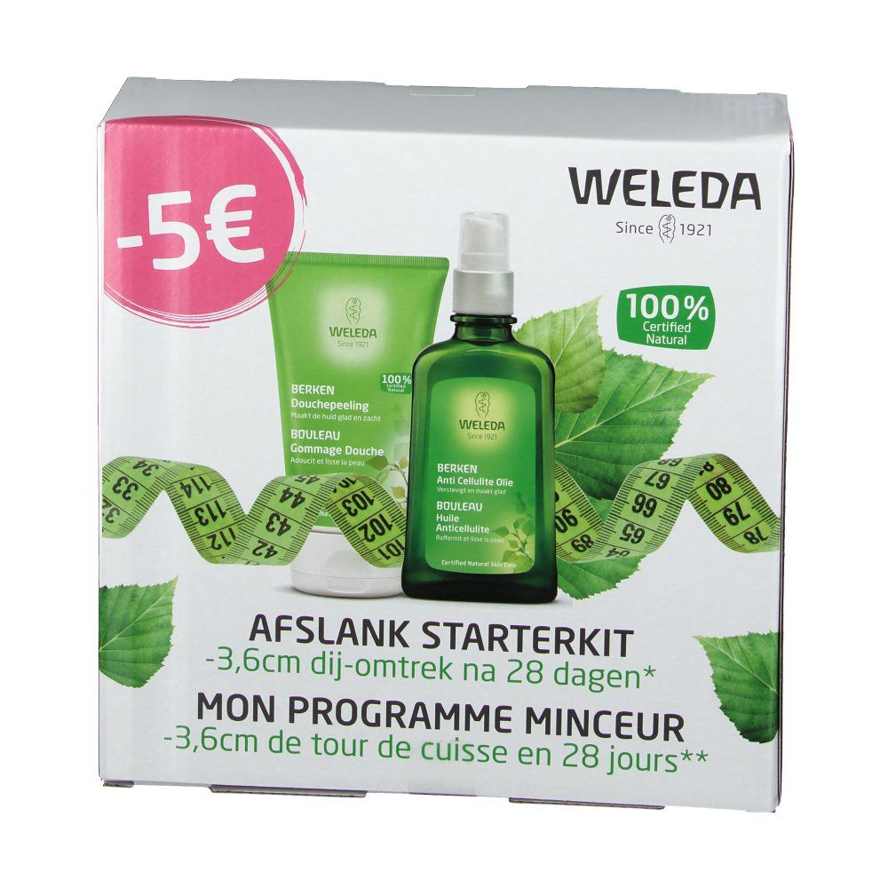 Image of WELEDA BALL Scrub-Dusche + Anti-Cellulite-Öl