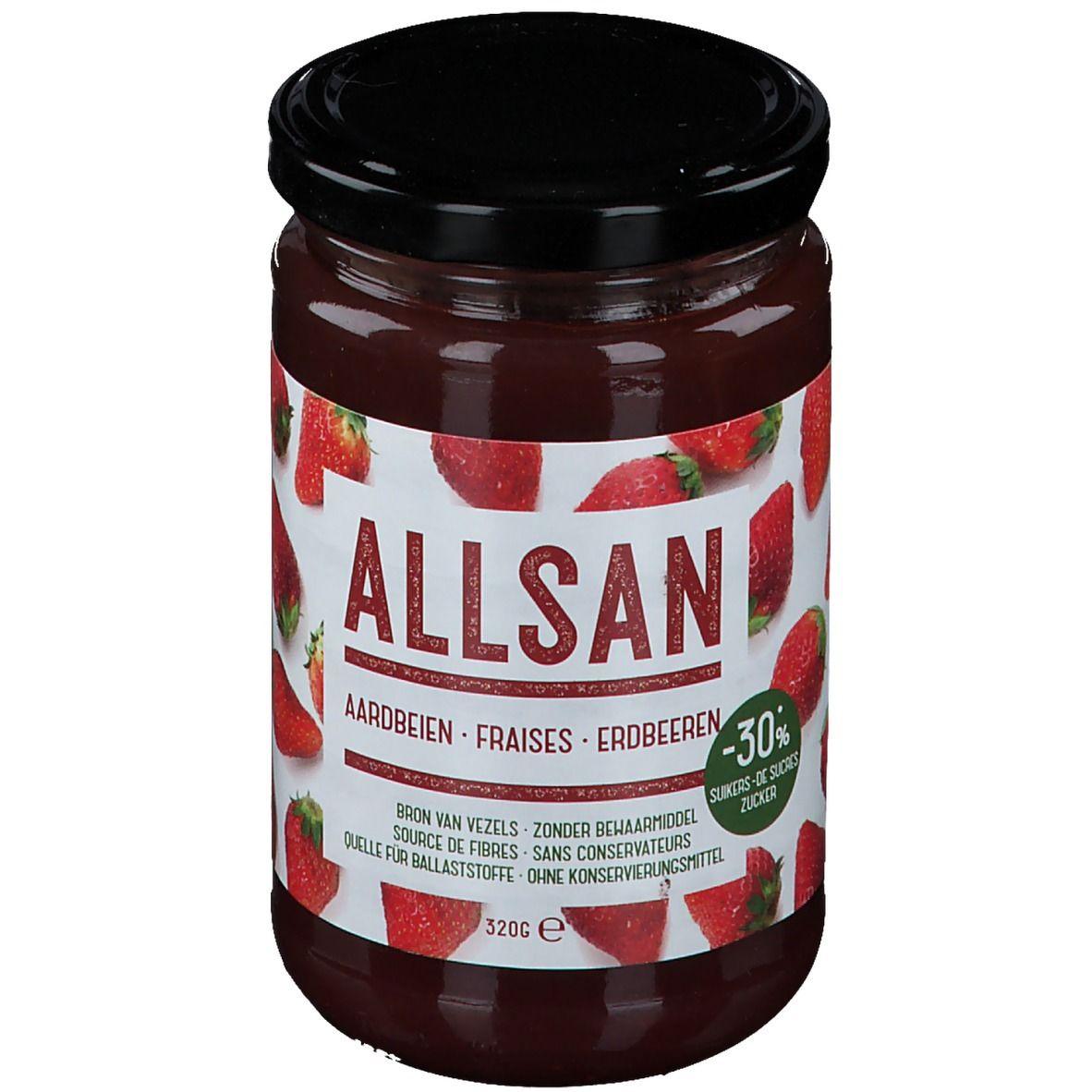Image of Allsan Erdbeer-Aufstrich