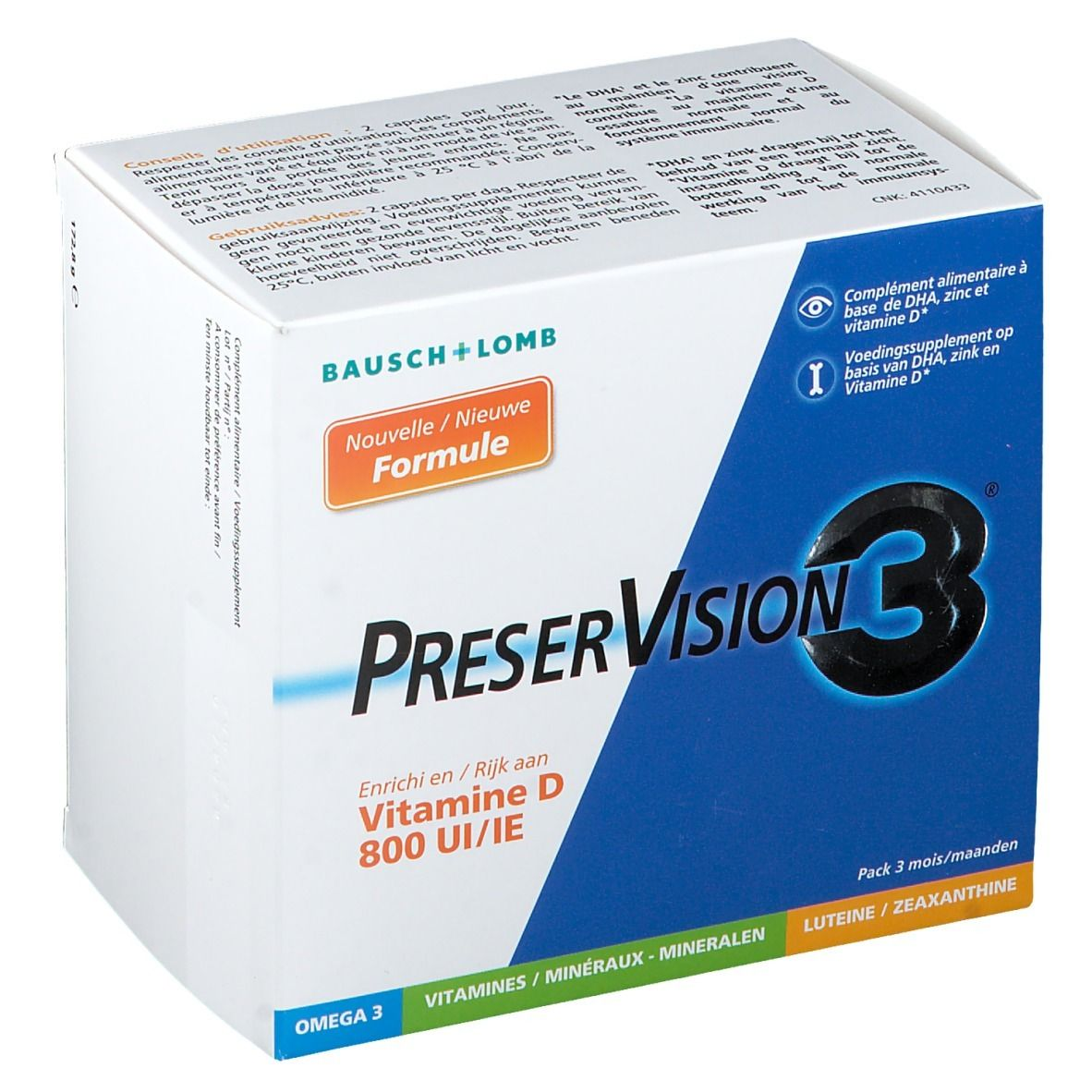 Image of Bausch & Lomb PreserVision 3 + Vitamin D3