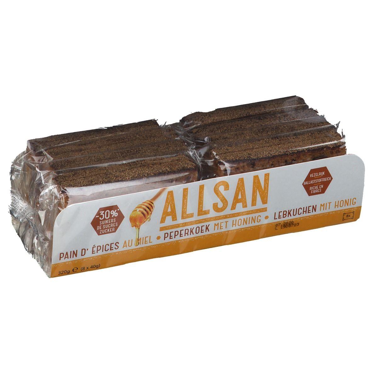 Image of Allsan Lebkuchen mit Honig
