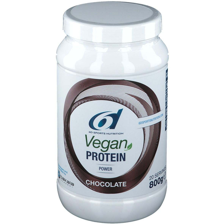 Image of 6D Nutrition Proteinpulver vegan Schokolade