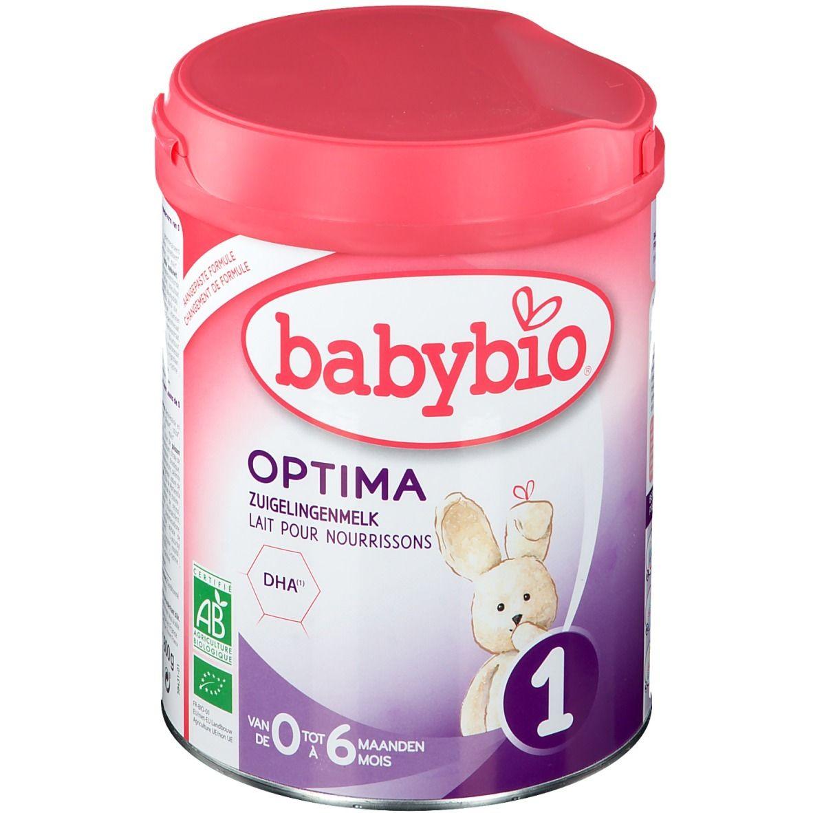 Image of BABYBIO OPTIMA 1 SÄUGLINGSMILCH 0-6 MONATE