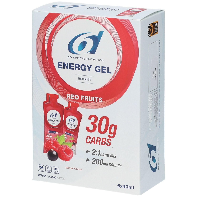 Image of 6D SPORTLICHE ERNÄHRUNG Energie Gel Fruits Rouges