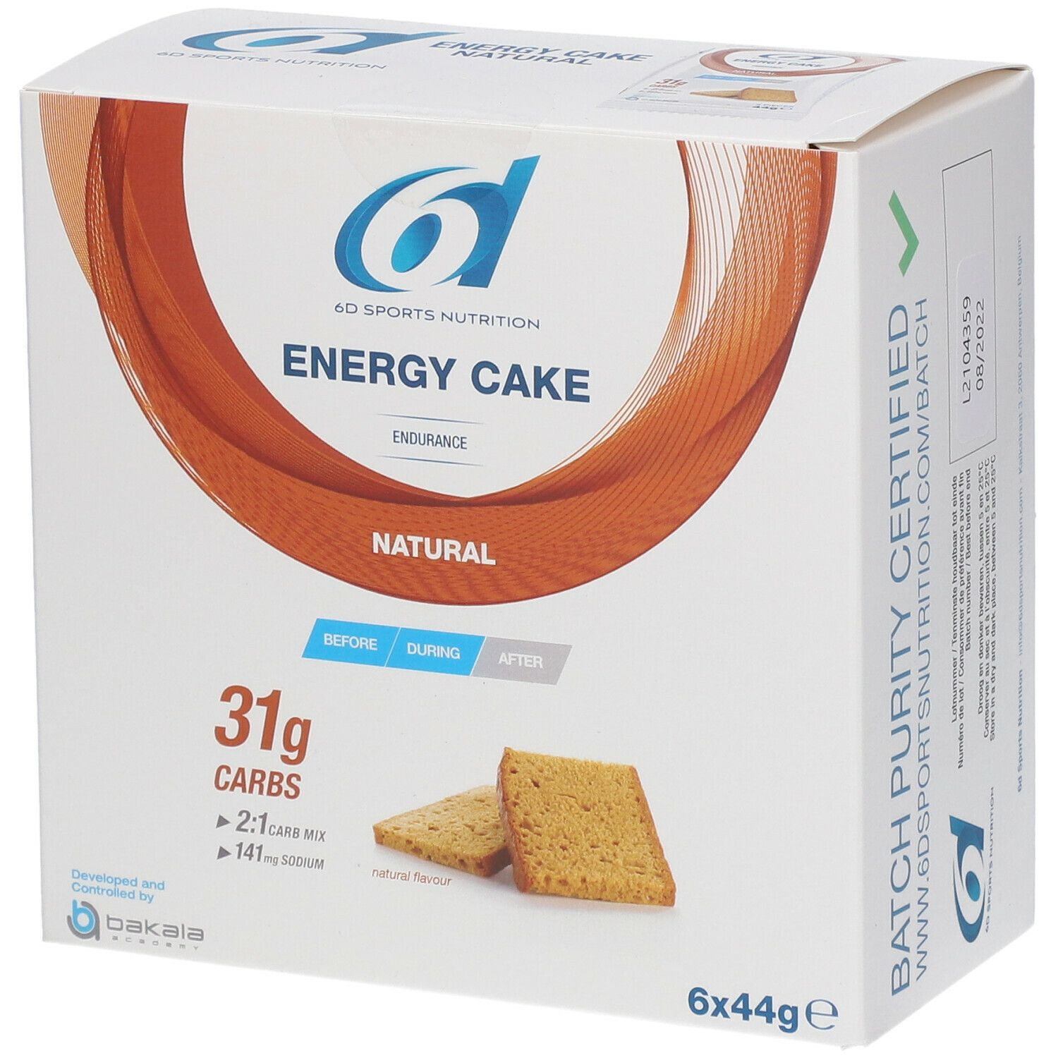 Image of 6D Sports Nutrition Energy Cake