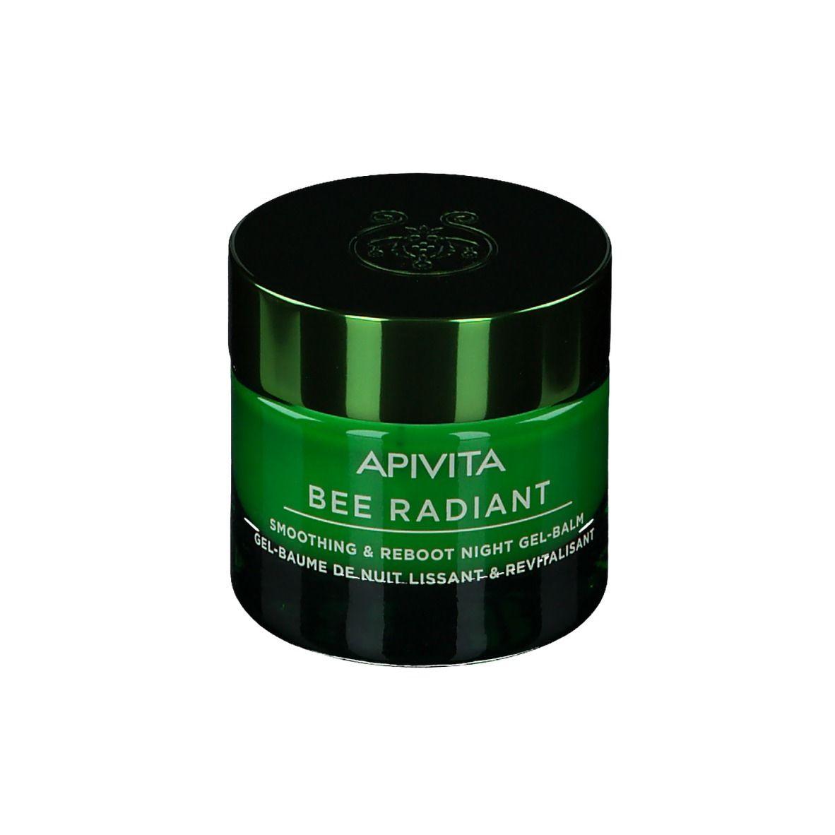 Image of APIVITA Bee Radiant Smoothing & Reboot Nacht Gelbalsam