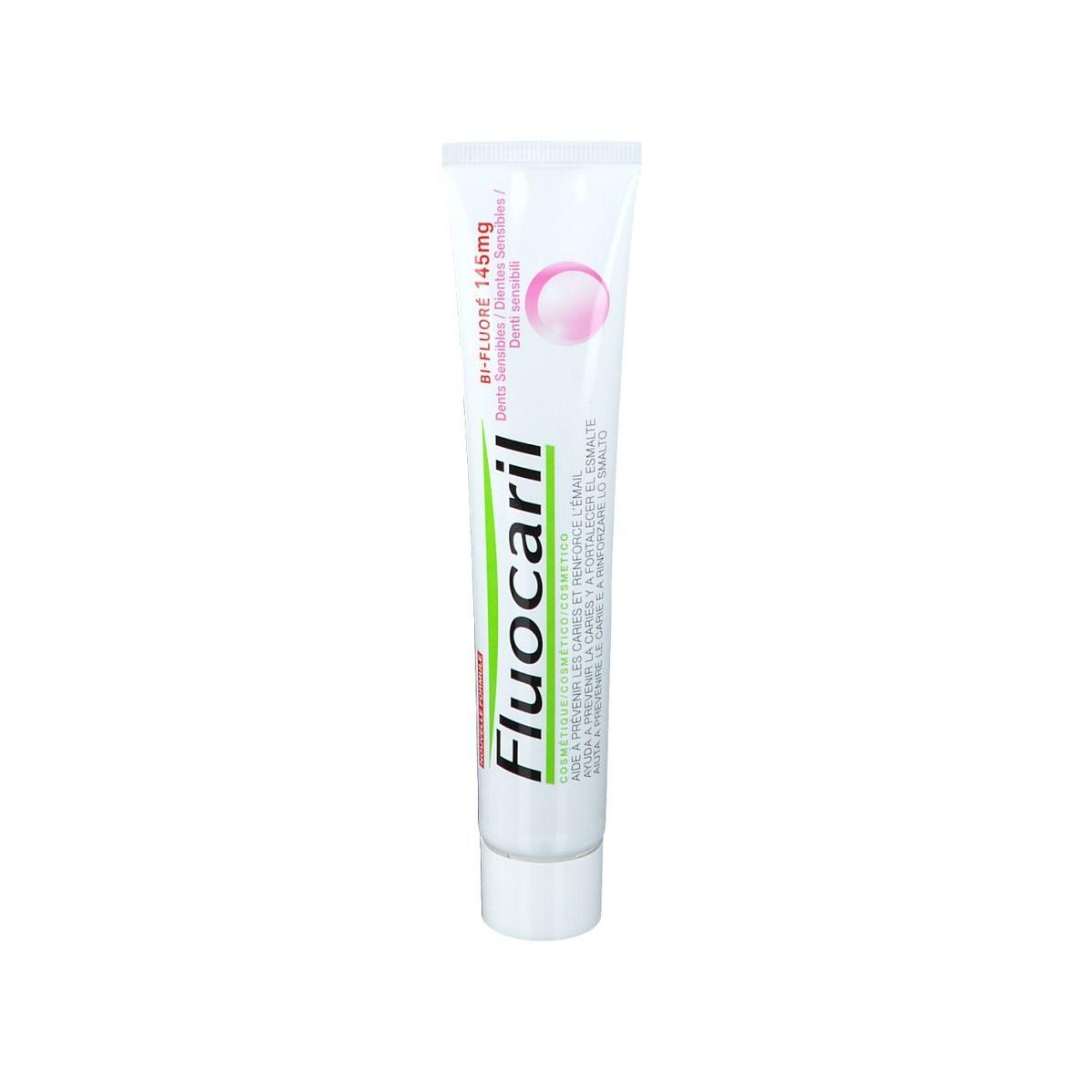 Image of Fluocaril Bi-Fluorierte 145 mg Zahnpasta für empfindliche Zähne