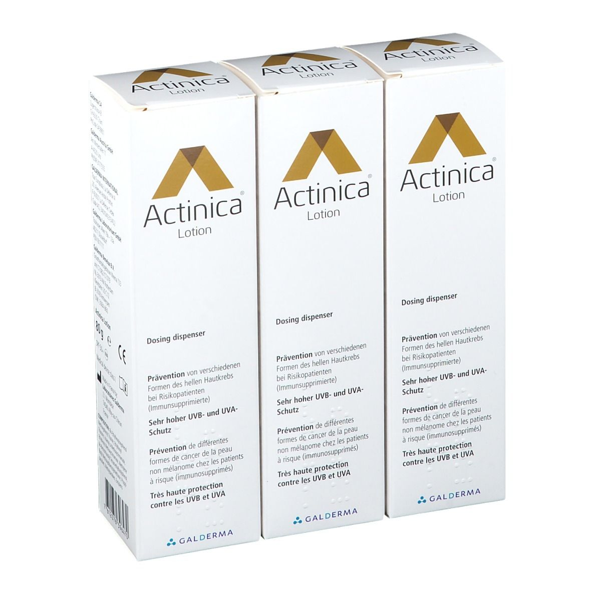Image of Actinica® Lotion Trio
