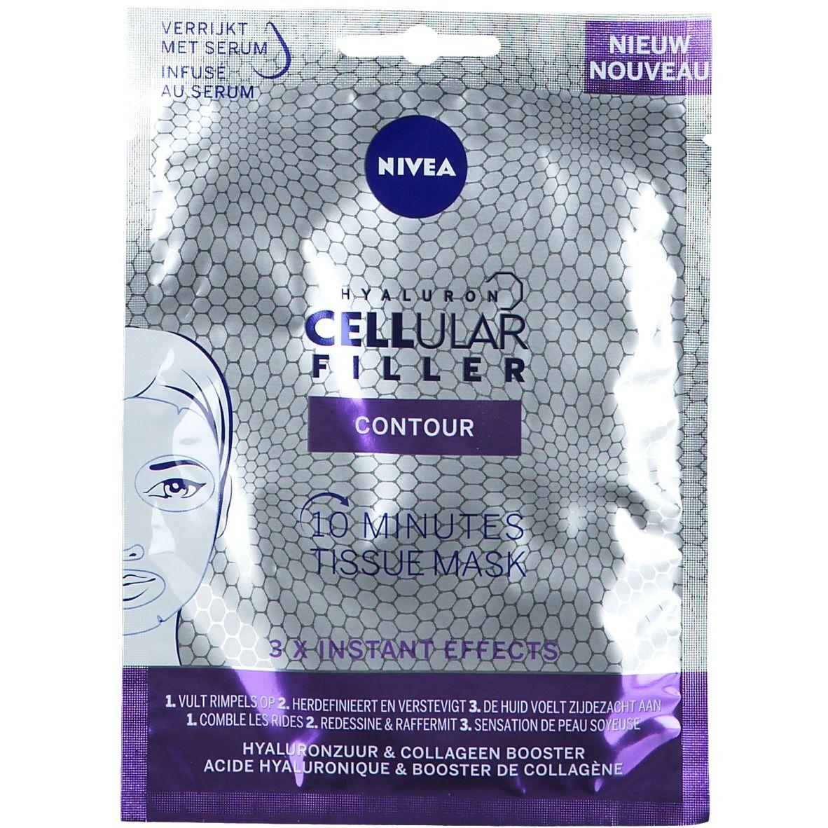 Image of NIVEA CELLular Filler Contour Tuchmaske
