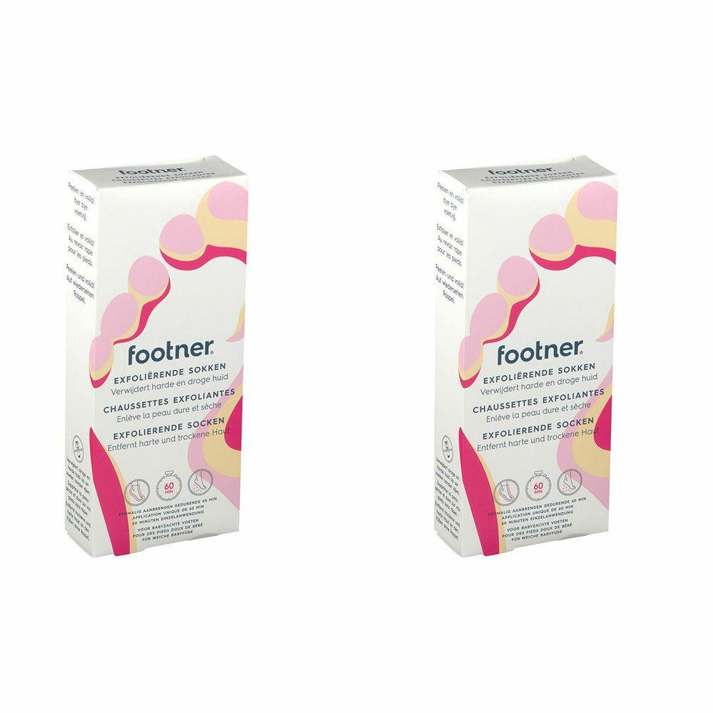 Image of footner® exfolierende Socken