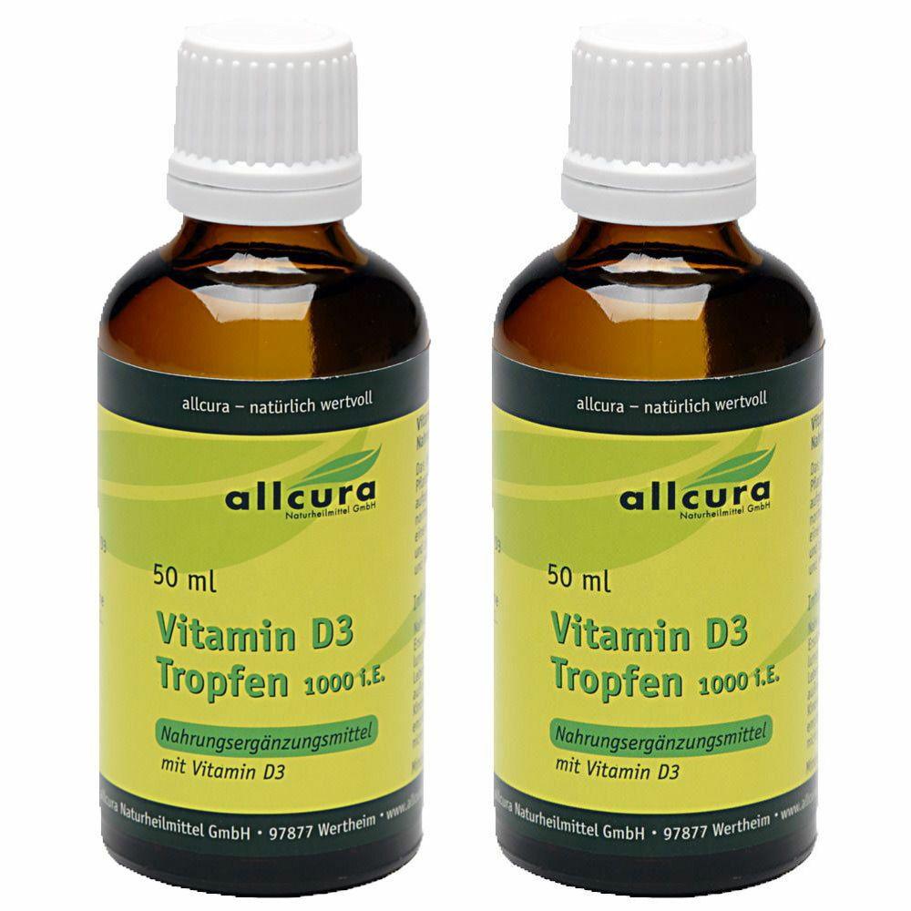 Image of Vitamin D3 Tropfen 1000 i.E.