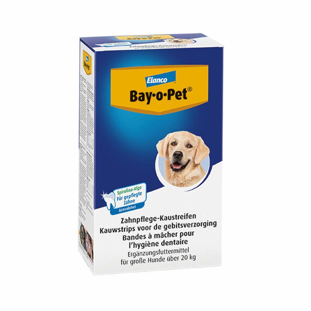 Image of Bay-o-Pet® Zahnpflege Kaustreifen mit Alge für große Hunde