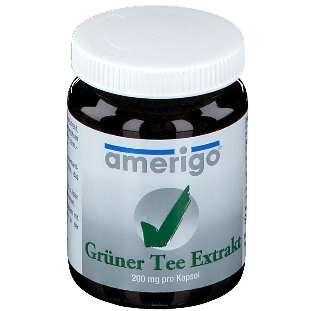 Image of Grüner Tee Extrakt Amerigo Kapseln