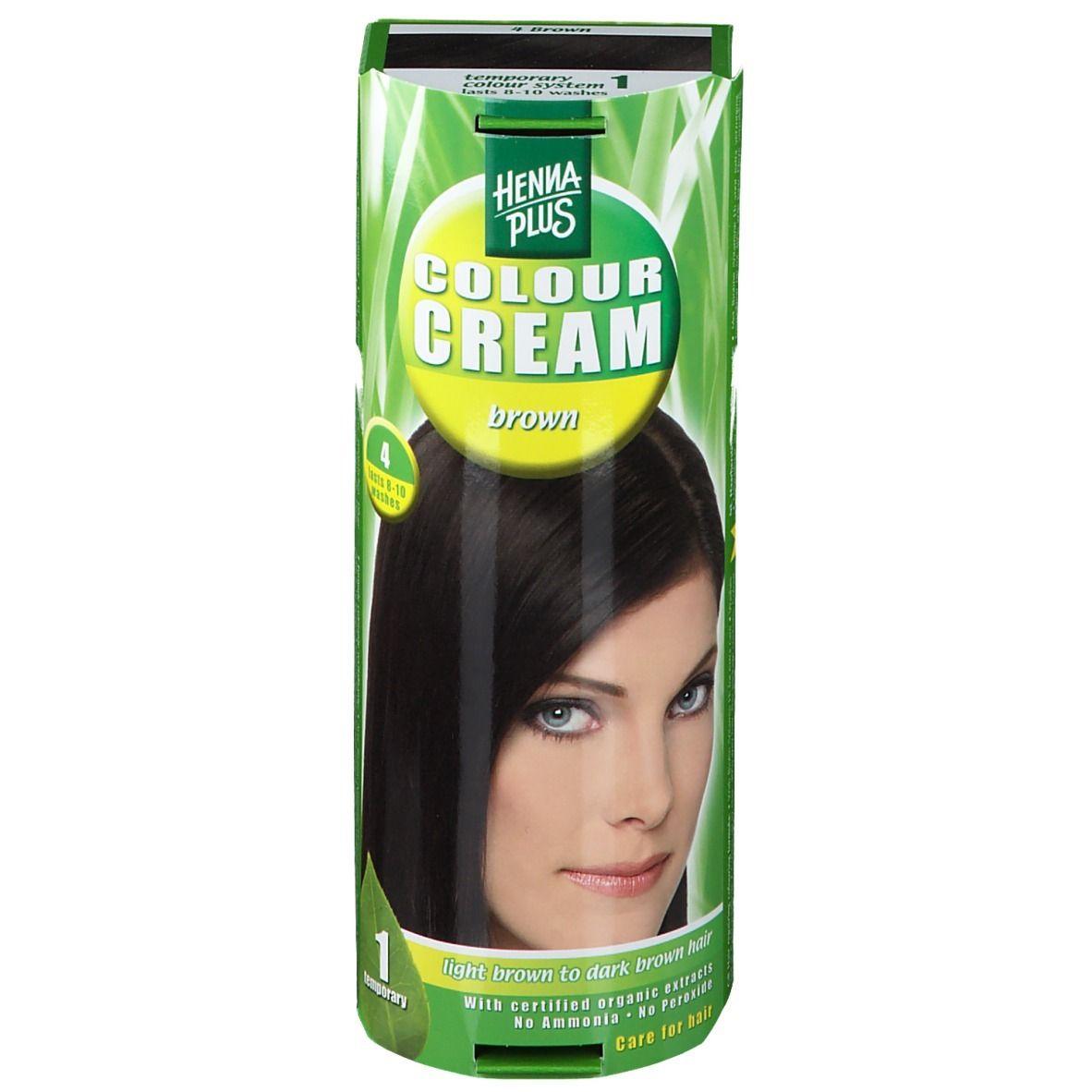 Image of Hennaplus Colour Cream Brown 4