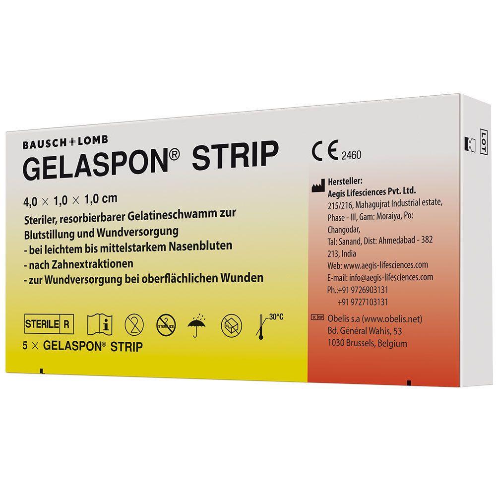 Image of GELASPON® Strip 4 x 1 x 1 cm