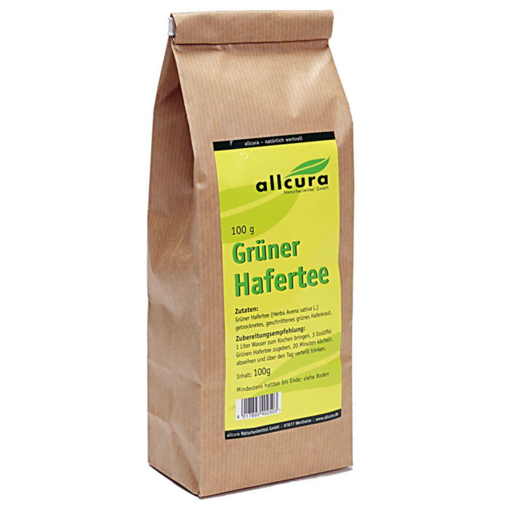 Image of allcura Grüner Hafertee
