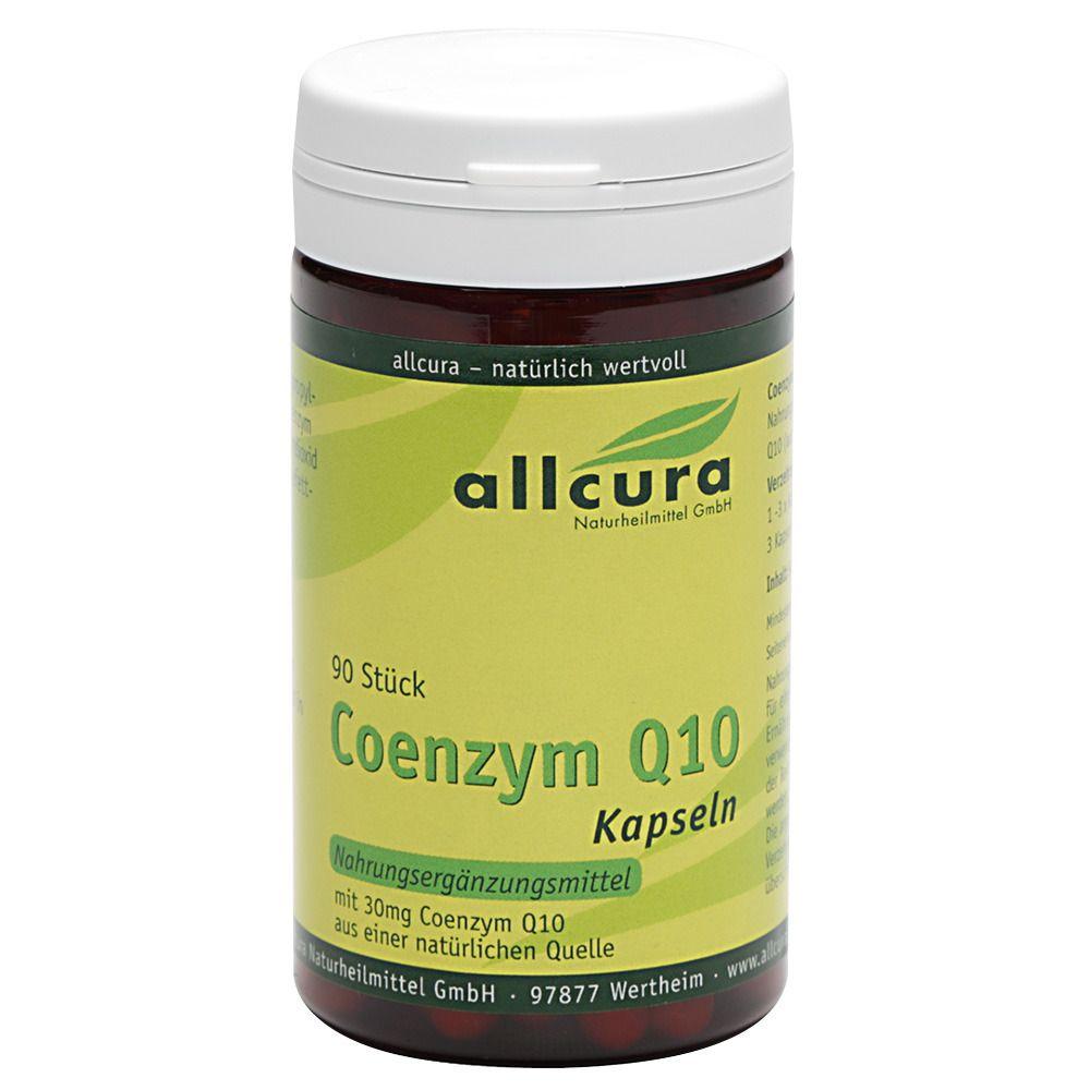 Image of allcura Coenzym Q 10 Kapseln