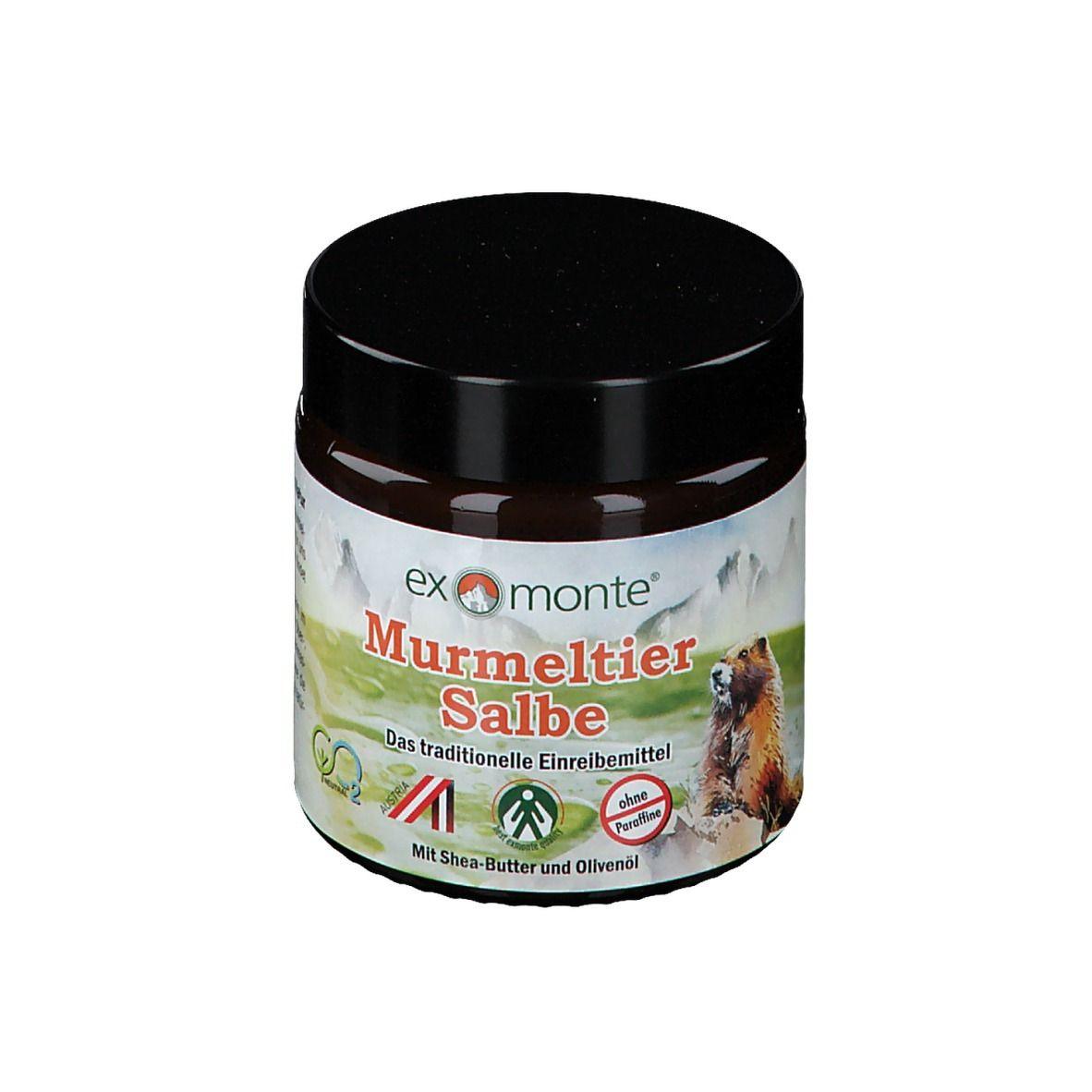 Image of exmonte Murmeltiersalbe ohne Paraffine