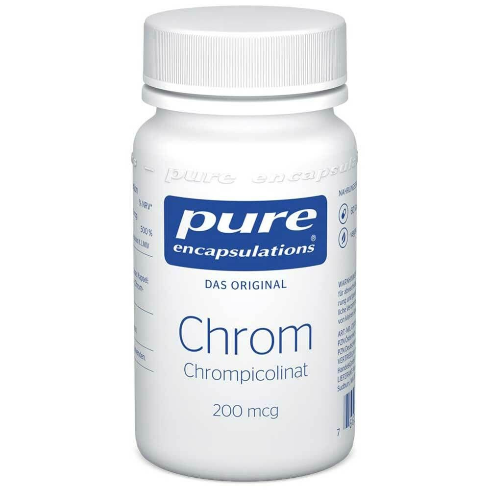 Image of Pure Encapsulations® Chrom (Chrompicolinat) 200mcg
