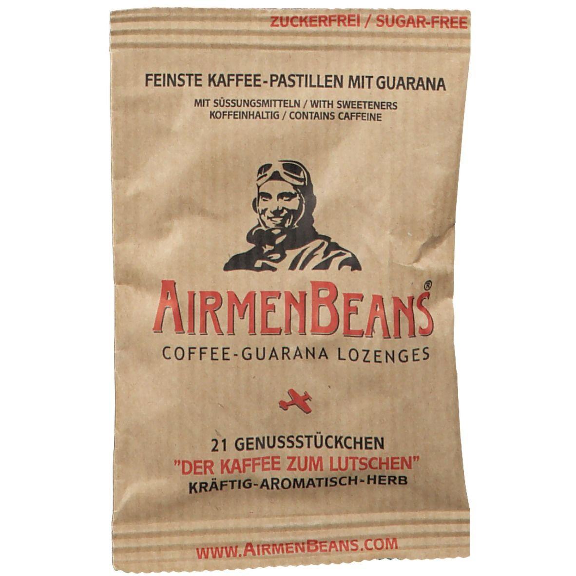 Image of Airmenbeans Kaffee-Guarana Pastillen