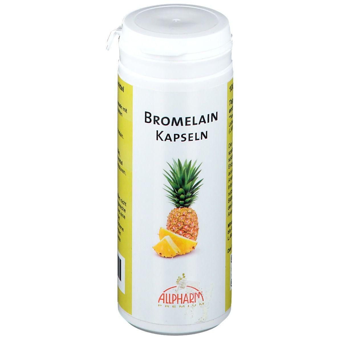Capsules d'enzymes de broméline