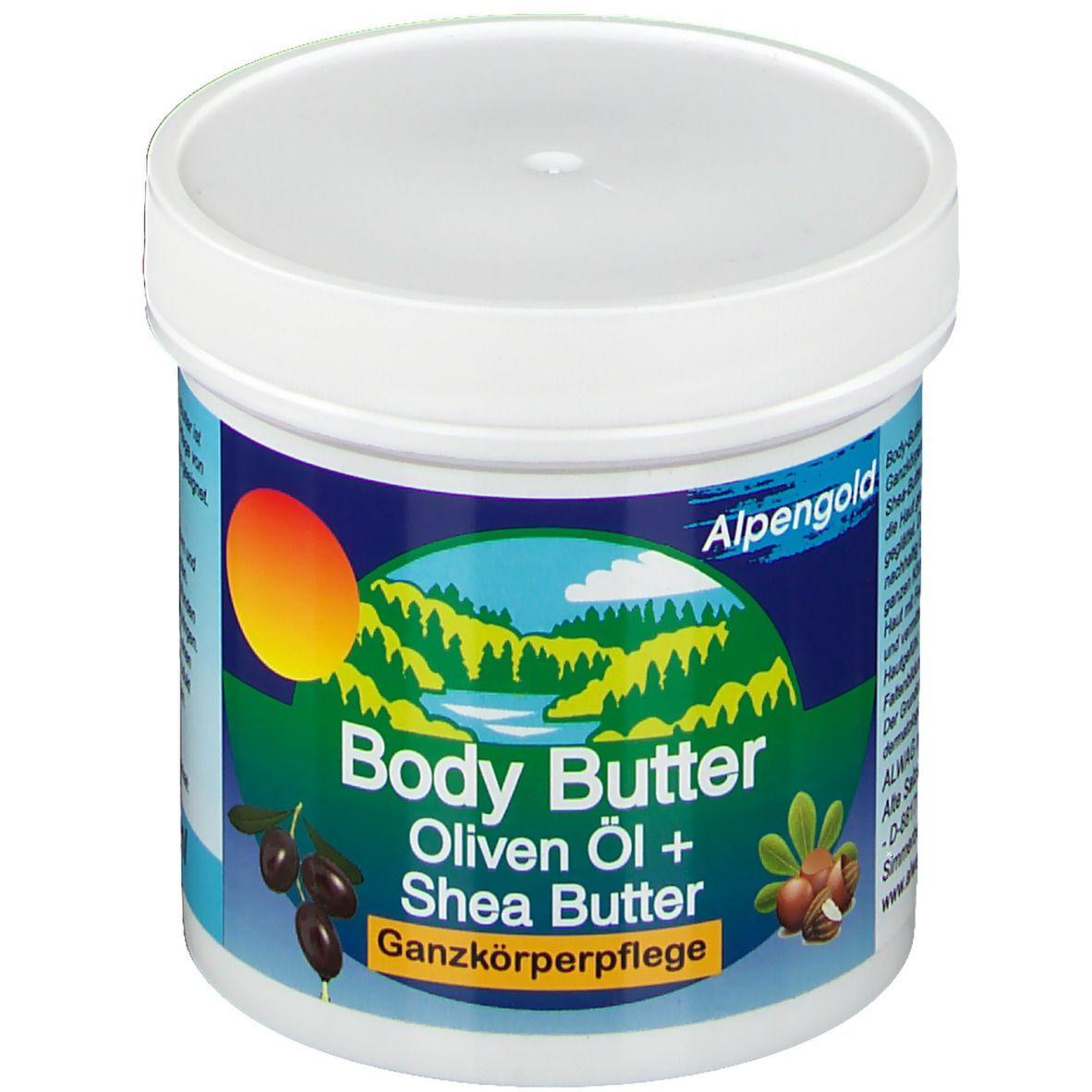 Image of Body Butter Oliven-Öl & Shea-Butter Ganzkörperpflege
