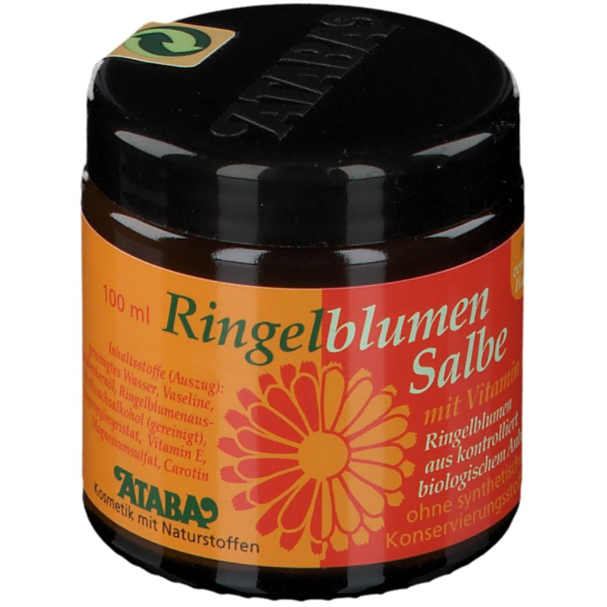 Image of ATABA-Ringelblumensalbe mit Vitamin E