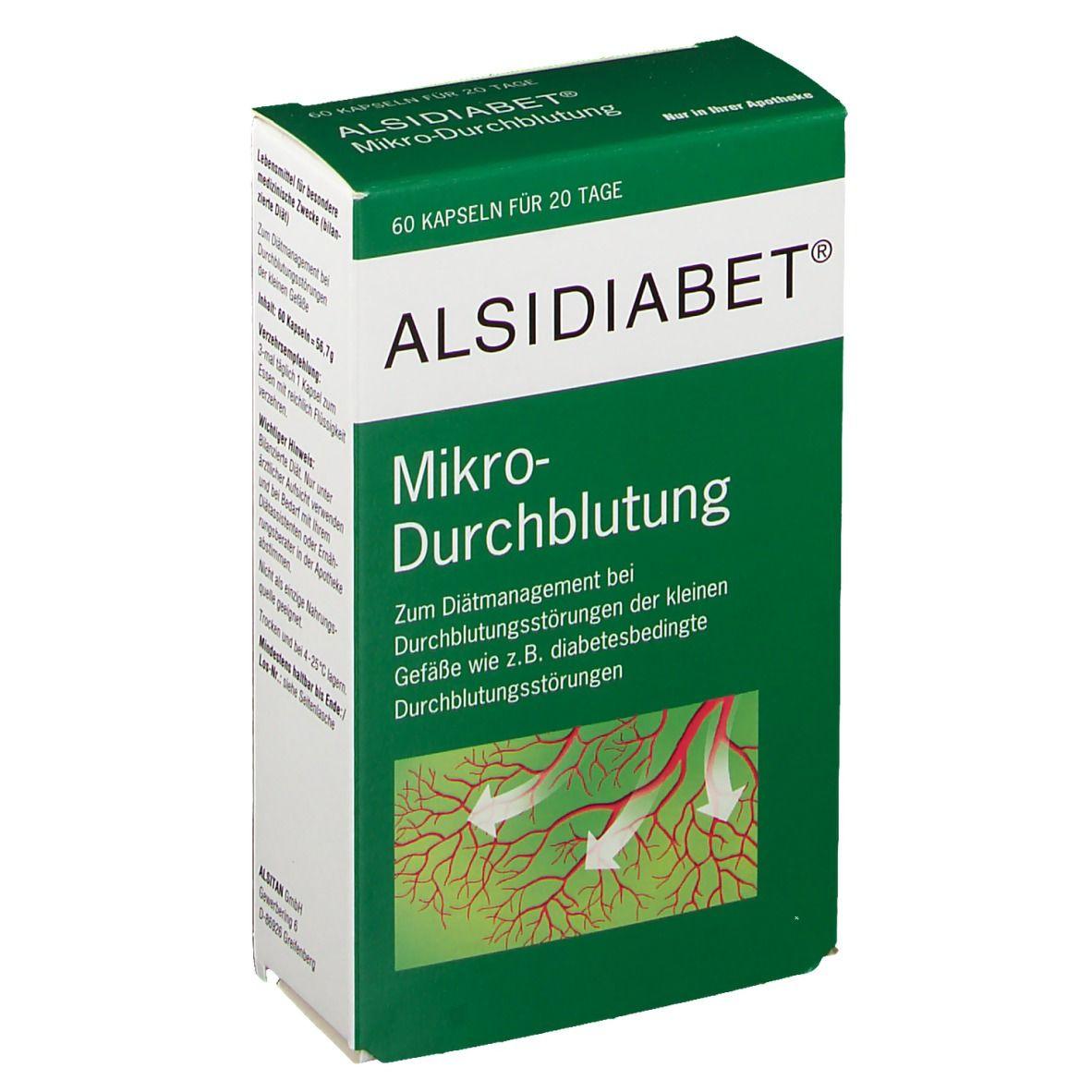 Image of Alsidiabet® Mikro-Durchblutung