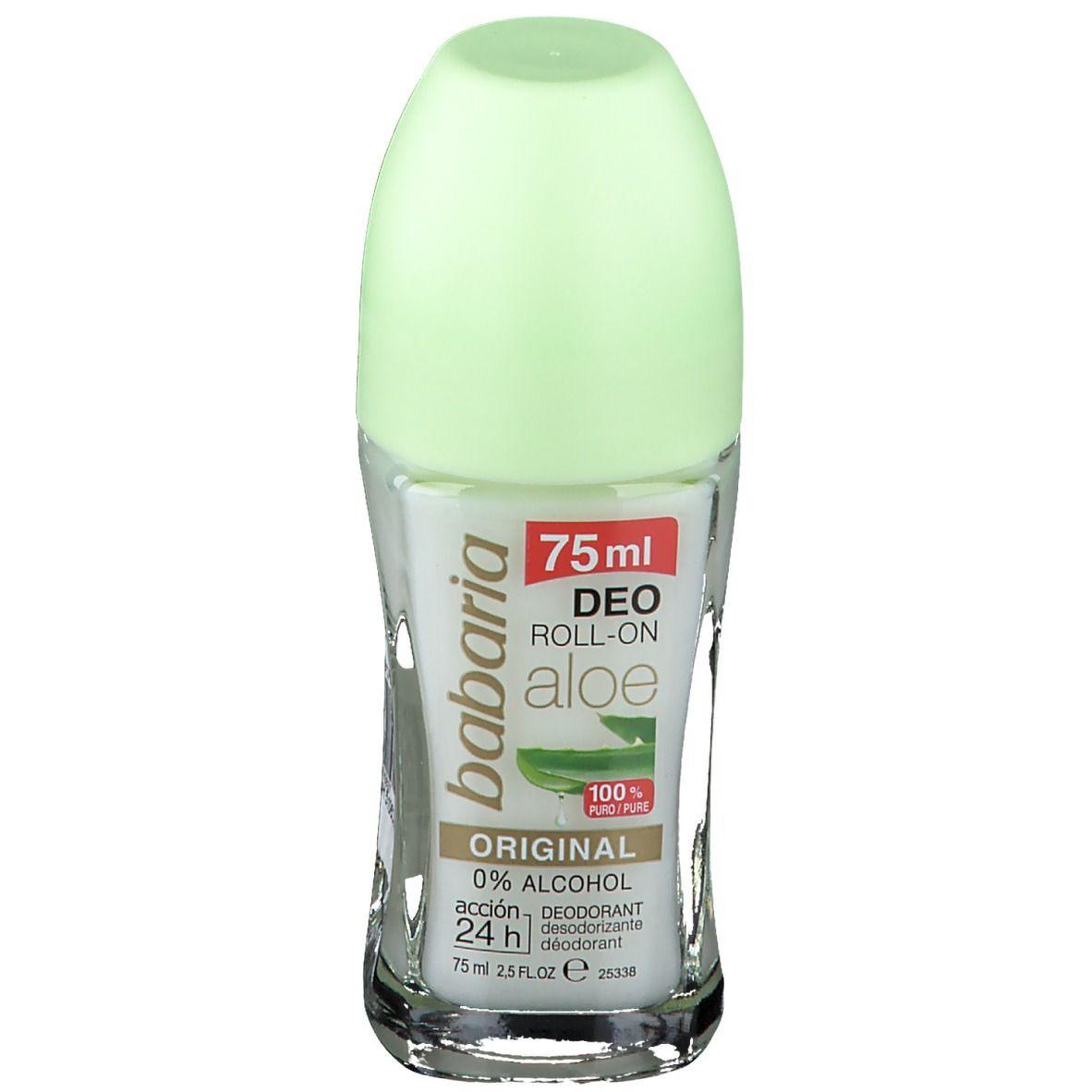 Image of babaria Aloe Vera Roll-On Deodorant