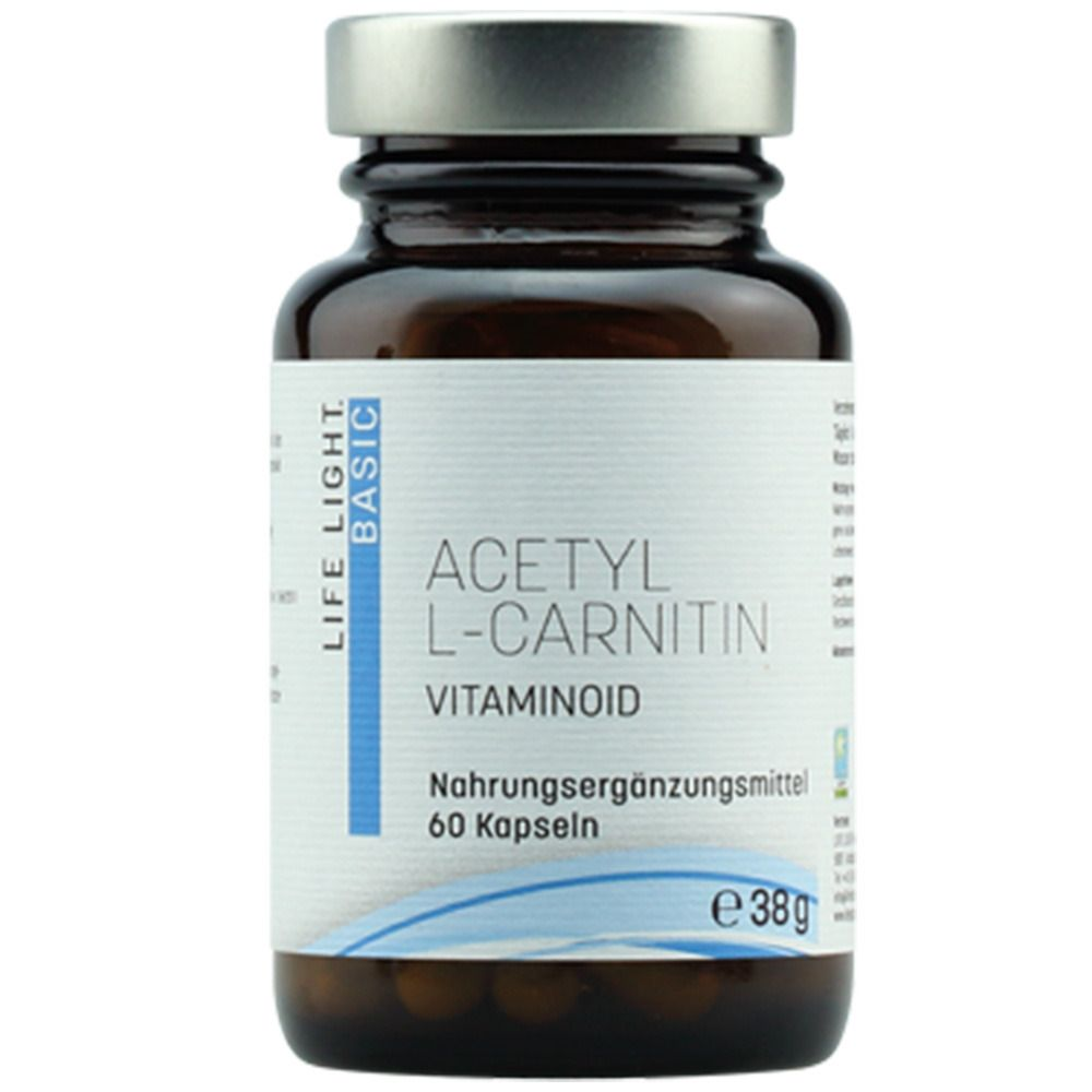 Image of LIFE LIGHT Acetyl L-Carnitin Vitaminoid 500 mg